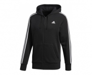 Adidas casaco c/ capuz essentials 3 stripes