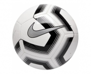 Nike soccer ball pitch train