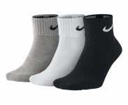 Nike pack 3 socks cushion quarter