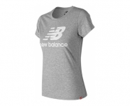 New balance t-shirt essentials stacked logo w