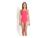 Speedo fato of banho solid rippleback with printed straps jr
