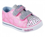 Skechers sapatilha sparkle glitz heartsy glam
