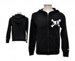 Enjoi jacket with hood crosscaps