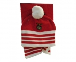 Adidas scarf+ hat official s.l.benfica