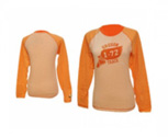 Nike camiseta long sleeve heritage graphic heather