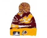 New era gorro team tigercuff wasred