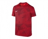 Nike t-shirt dry football top jr