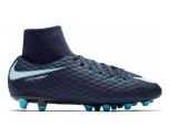 Nike football boot hypervenom phelon iii dynamic fit (ag-pro) jr
