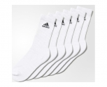 Adidas meias pack6 performance crew