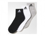 Adidas calcetines pack3 per t