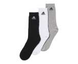 Adidas calcetines pack3 performance crew thin