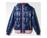 Adidas jacket padofd youth girls