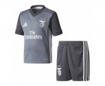 Adidas mini kit oficial benfica 2017/2018 away jr