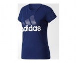 Adidas camiseta essentials linear slim w