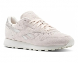 Reebok zapatilla classic leather  shimmer w