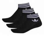 Adidas meias pack3 trefoil ankle