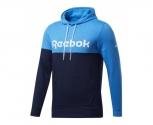 Reebok sweat c/ capuz training essentials logo