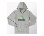 Adidas sweat with hood essentials multicoloured logo