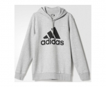 Adidas sweat com capucha sport essentials logo