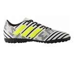 Adidas sapatilha de futebol turf nemeziz 17.4