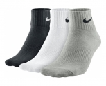 Nike pack 3 calcetines cushion quarter