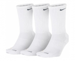 Nike meias pack3 dry lightweight crew training