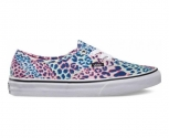 Vans sapatilha authentic leopard w
