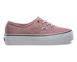 Vans zapatilla plataforma authentic w