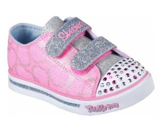 Skechers zapatilla sparkle glitz heartsy glam