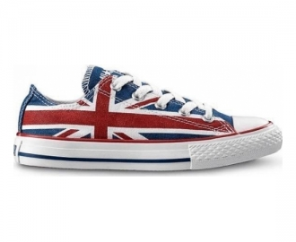 Converse sneaker ct ox uk flag