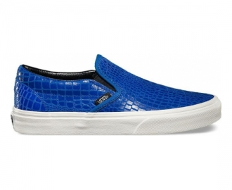 Vans slip on classic snake leather w