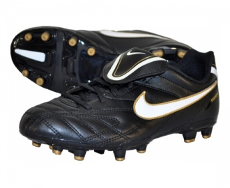 Nike football boot tiempo natural iii fg jr