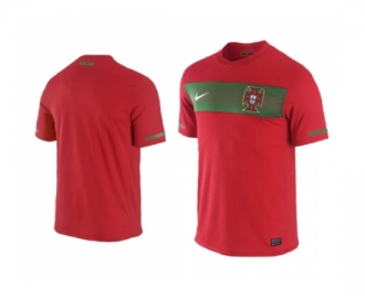 Nike official shirt portugal home 2010/2012