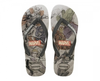 Havaianas chinelo top marvel avengers print