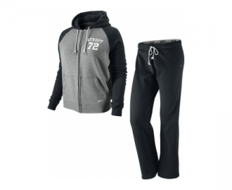 Nike tracksuit with hood rally algodao w