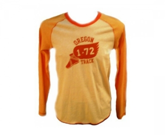 Nike camiseta long sleeve heritage graphics heather