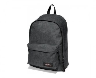 Eastpak mochila out of office black denim