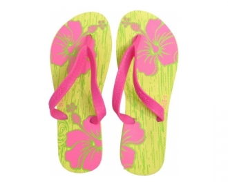 Dupe chinelo floral slim