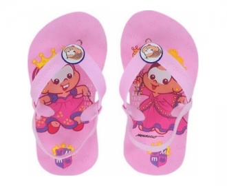 Dupe flip flop turma monica baby