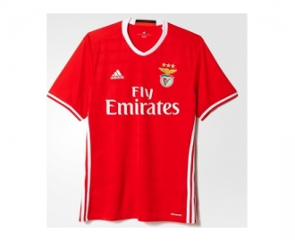 Adidas official shirt s.l.benfica 2016/2017 home