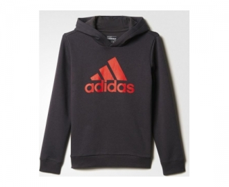 Adidas sweat c/ capuz essentials logo k
