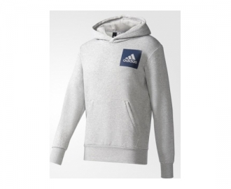 Adidas sweat c/ capuz essentials chest logo