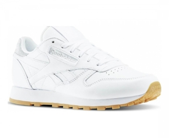 Reebok sapatilha classic leather met diamond w