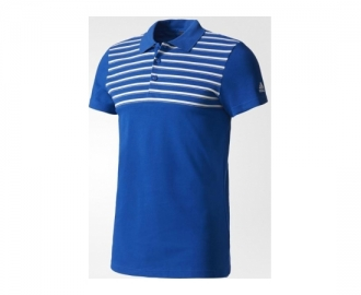 Adidas polo shirt essentials yarn dye
