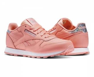 Reebok sapatilha classic leather pastel k