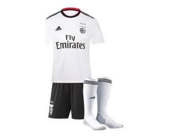 Adidas mini kit oficial s.l.benfica 2018/2019 away inf