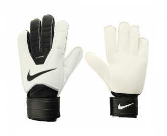 Nike gloves of goalkeeper gk match