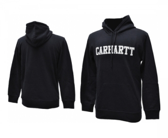 Carhartt sweat with hood college