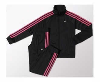 Adidas tracksuit separates polyester jr