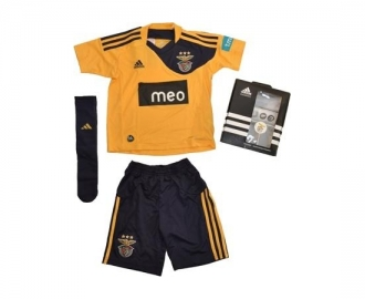 Adidas mini kit oficial s.l.benfica alternativo 2010/2011